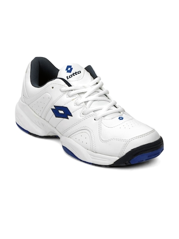 Lotto Men White Sports Shoes