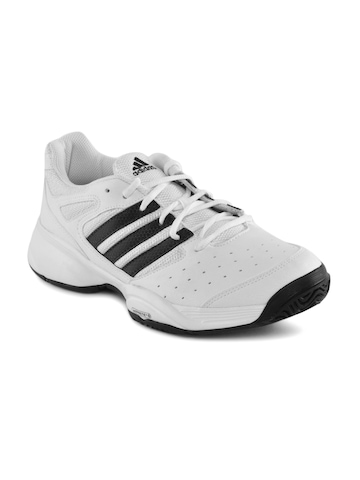 Adidas Men Swerve Str White Sports Shoes