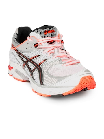 ASICS Men Gel DS 16 Running White Sports Shoes