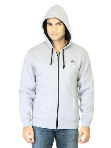 Quiksilver Men Grey Sweatshirt