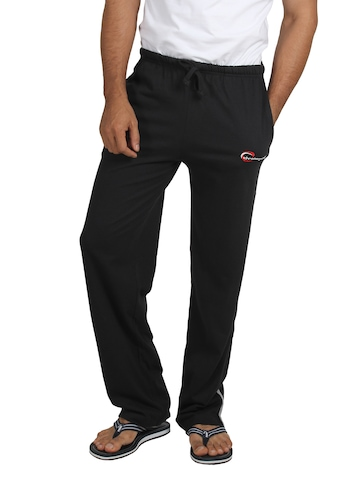 Chromozome Men Black Lounge Pants