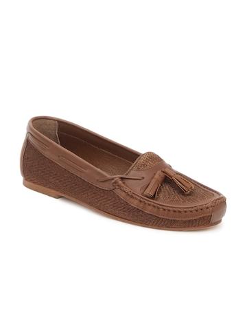 Carlton London Men Brown Shoes