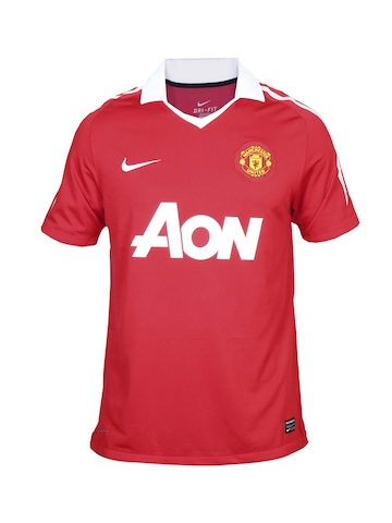 Nike Men Manchester United Red Jersey