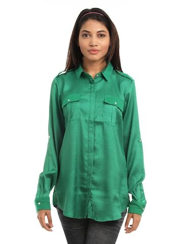 Vero Moda Women Green Shirt