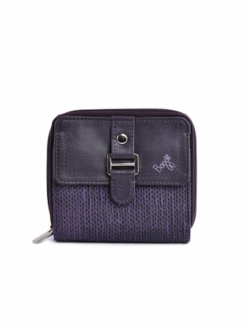 Baggit Women Aer Jhuti Purple Wallet