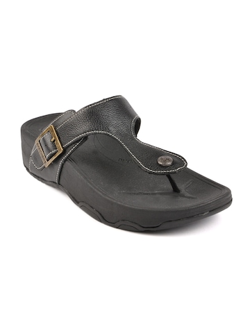 Skechers Women Tone Black Sandals