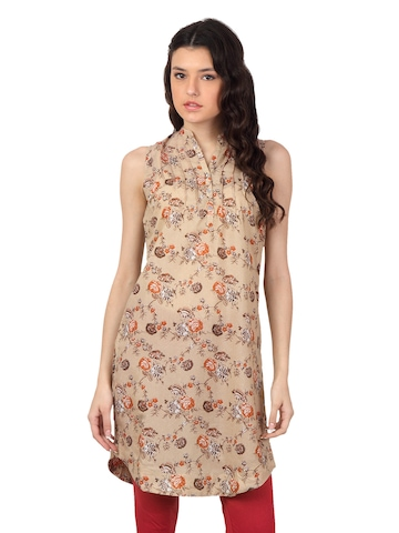 W Women Brown Kurta