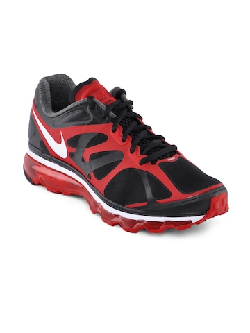 Nike Men Air Max Black Sports Shoes