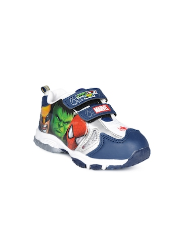 Marvel Boys Blue Shoes
