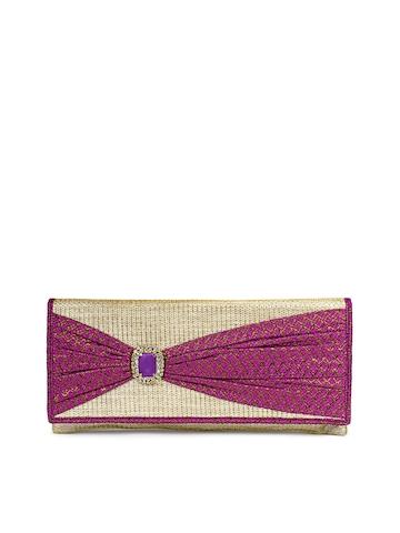 Rocia Women Gold Clutch