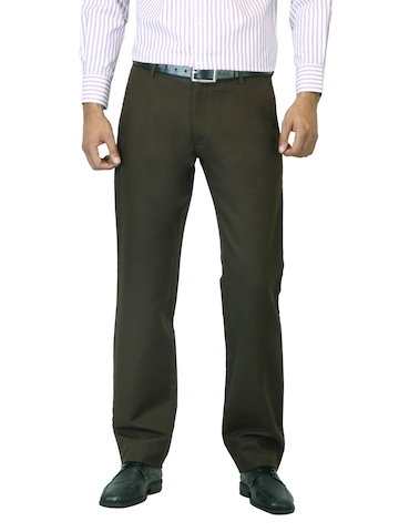 Arrow Sport Men Brown Trousers