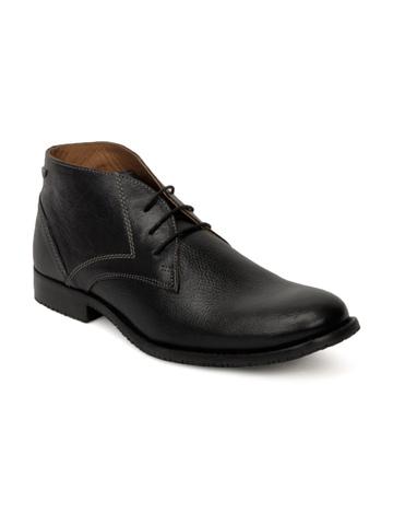 Red Tape Men Black Formal Shoes