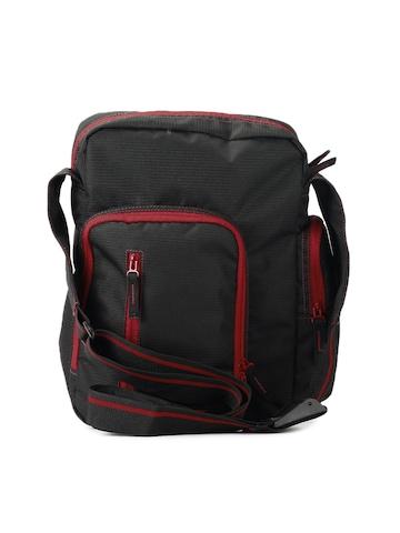Wildcraft Unisex Black Messenger Bag