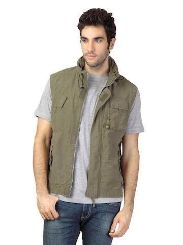 Scullers Men Olive Jacket