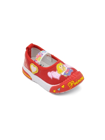 Disney Kids Red Casual Shoes
