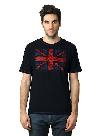 French Connection Men Blue T-shirt