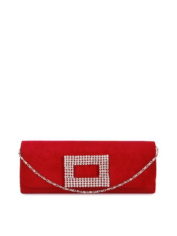 Rocia Women Red Clutch
