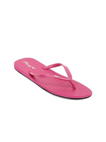 Roxy Women Pink Flip Flops