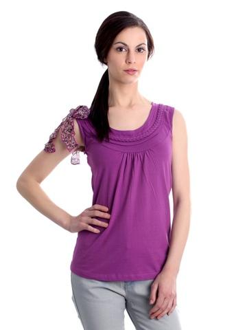 Jealous 21 Women Purple Top