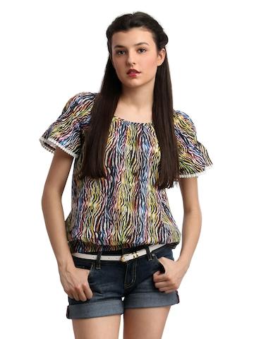 Remanika Women Multi Coloured Top