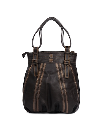 Baggit Women Praise Taj Brown Handbag