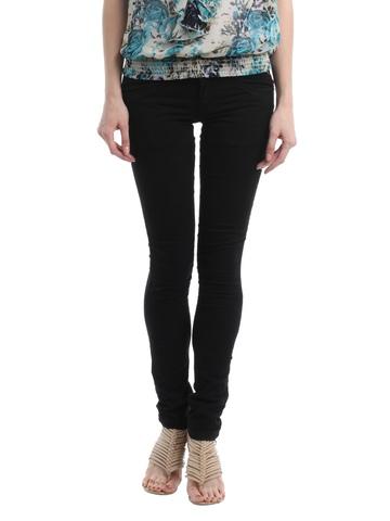 Kraus Jeans Women Black Jeggings