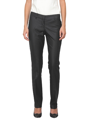 Scullers For Her Black Trousers