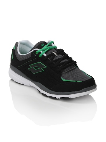 Lotto Men Dolce Vita II Black Sports Shoes