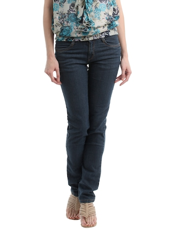 Kraus Jeans Women Navy Blue Jeans