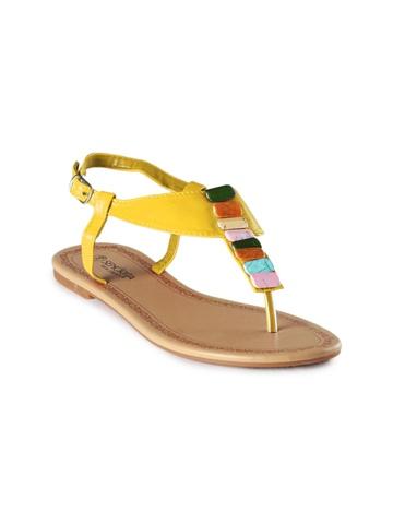 Senorita Women Yellow Flats