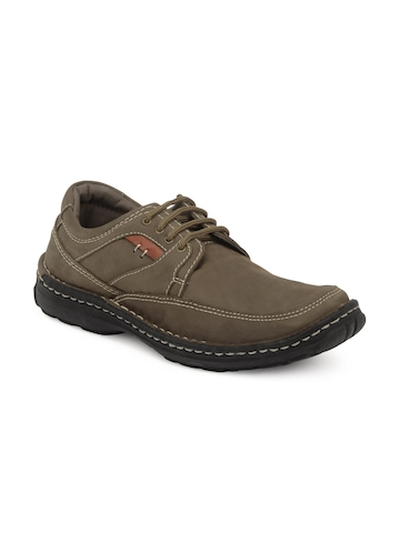 Buckaroo Men Brown Shoes