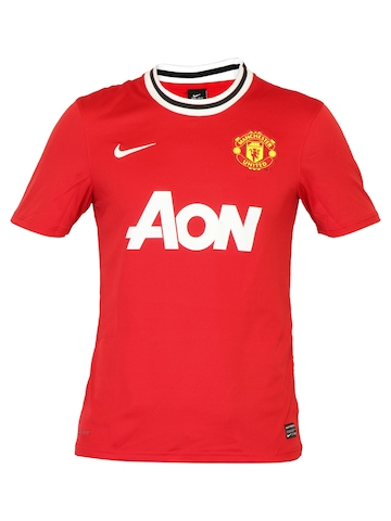 Nike Men Manchester United Red Jerseys