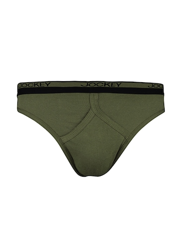 Jockey Men Olive Y Front Briefs
