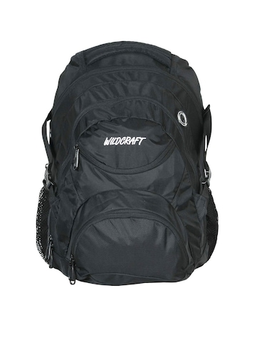 Wildcraft Unisex Black Ursa Backpack