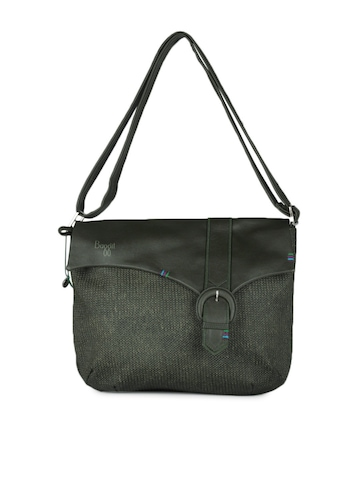 Baggit Women Olive Green Bag