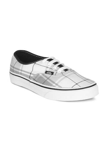 Vans Unisex White Authentic Shoes