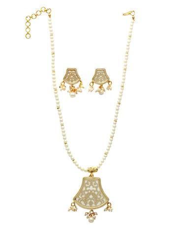 Royal Diadem White Jewellery Set