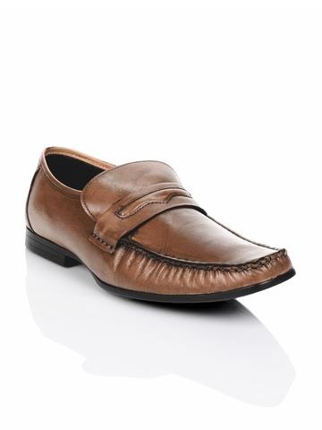 Franco Leone Men Brown Shoes