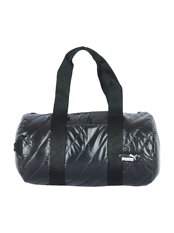 Puma Unisex Dizzy Barrel Black Bag