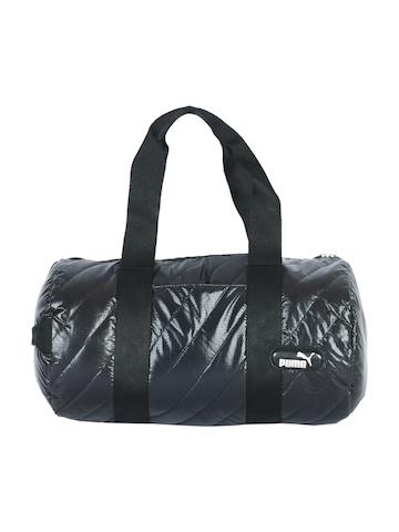 Puma Unisex Dizzy Barrel Black Bag