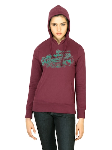 Wrangler Women American Brown Sweatshirt