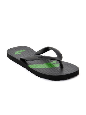 Puma Men Arizona Black Flip Flops