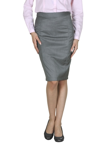 Van Heusen Woman Grey Skirt