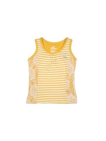 Gini and Jony Girls Yellow Top