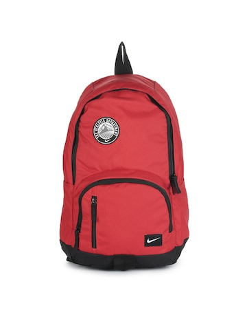 Nike Unisex Casual Red Backpack