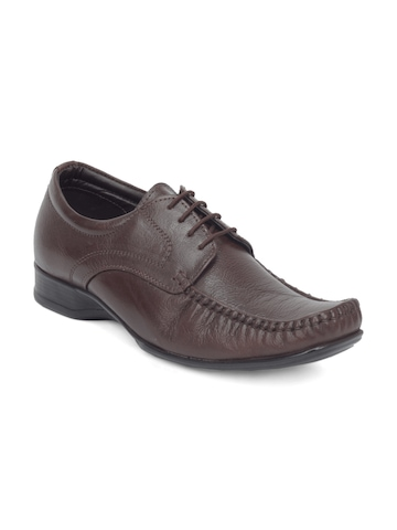 Bata Men Brown Formal Shoes
