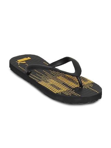 Puma Unisex Matrix Black Flip Flop