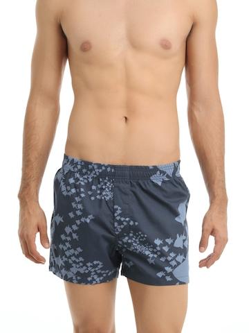 Myntra Navy Blue Printed Boxers