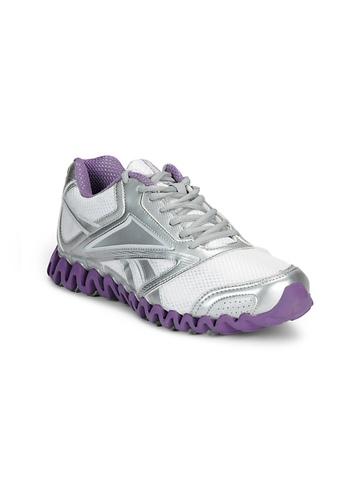 Reebok Women White Zignano Race Sports Shoes