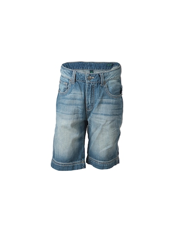 United Colors of Benetton Kids Boys Blue Washed Jeans